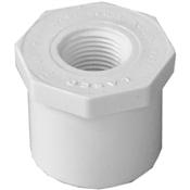 "1-1/4""x1/2"" Reducer Bushing Spigot X FPT Schedule 40 PVC"