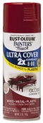 2X Painter's Touch Spray Paint Gloss Colonial Red