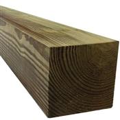 6 x 6 x 14, Southern Pine, No. 2, Pressure Treated (CCA .60), Rough Sawn