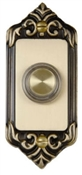 Lighted Brass Door Chime Button