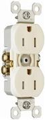 Almond 15 Amp 25 Volt Tamper Resistant Receptacle 10 Pack