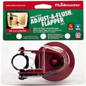Adjustable Toilet Tank Water Saver Flapper Repair Part Supplies BluRKFS