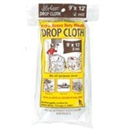 9' x 12' Plastic 2 Mil Drop Cloth