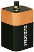 DURACELL MN908 Alkaline Battery, 6 V Battery, 11.5 Ah, 4LR25X Battery, Manganese Dioxide, 1