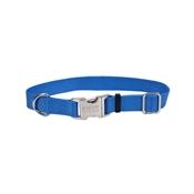 "1"" Adjustable Blue Nylon Collar, Adjusts 18""-26"""