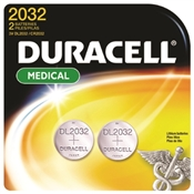 Duracell 2Pk Coin Cell Battery, 3 V, Cr2032, Lithium/Manganese Dioxide