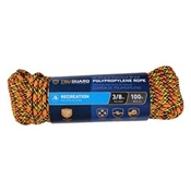 """3/8""""X100' 32 Strand Poly Rope, Assorted"""