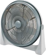 "20"" High Performance Air Circulator, 5 Blades, Grey"
