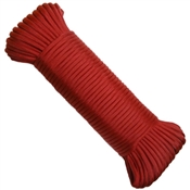 "5/32"" x 100' Nylon Paracord (Red)"
