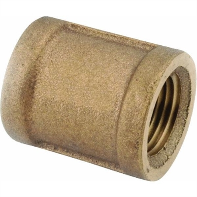 "1/4"" Brass Coupling"