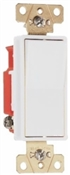 Legrand White 20 amp decorator style 3 way switch 120/277 volts