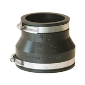 """Rubber Pipe Coupling, 4"""" x 3"""""""