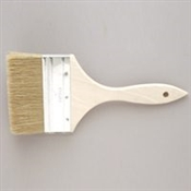 "Linzer 4"" Chip Brush with Wood Handle"