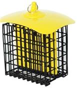 Audubon Metal Multi-Colored Double Suet Basket Holder