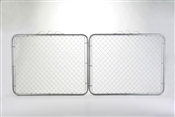 "48"" x 10' Chain Link Fence Drive Gate"