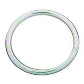 National Hardware 3155BC Series N223-164 Welded Ring, 300 lb Weight Capacity, Steel, Zinc
