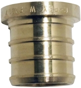 "1/2"" Brass Pex Test Plug, 5 Pack"