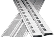 8' Continuous Soffit Vent Strip - Mill