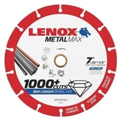 """Metalmax Diamond Edge Cutoff Wheel, 7"""" x 7/8"""