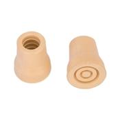 Prosource FE-S619-PS Crutch Tip, Round, White