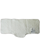 Snap-On Terrycloth Sweatband Beige