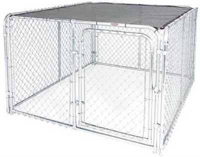 6' x 8' Sun Block Top Kennel