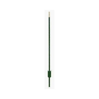 6-1/2' Steel T-Post 1.25# Green