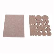 Prosource FE-50209-PS Furniture Pad, Felt Cloth, Beige