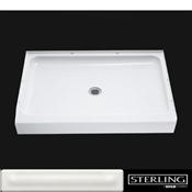 Sterling Ensemble 72121100-0 Shower Base, Rectangular, Vikrell, White