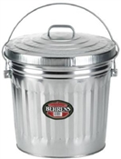 Pail W/Locking Lid Galvanized 10 Gallon