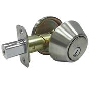 Deadbolt Single Cylinder Truguard G3, Stainless Steel