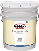 Grab-N-Go™ Glidden Fundamentals Semi-Gloss White Interior Paint, 5 Gallon