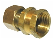 "1/2"" Compression x 1/2"" Female Pipe Thread Adapter"
