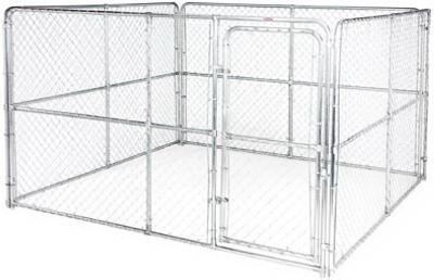 Shop 10 X 10 X 6 Chain Link Kennel At Mccoy S