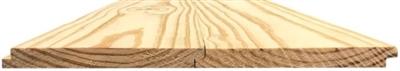 """1""""x8""""x16' #2 Southern Pine Ship Lap Siding"""
