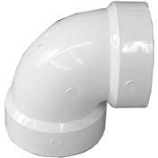 "1-1/2"" PVC-DWV 90 Vent Elbow (HubxHub)"