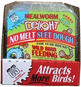 11.75OZ Mealworm Delight No Melt Suet Dough Cake