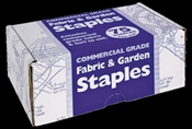Jobes 815 U-Shaped Fabric and Garden Staple, 4 in L, 1 in W, Carbon Steel