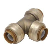 "3/4X3/4X1/2"" Copper Reducing Tee"