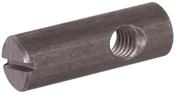 """Zinc Slotted Barrel Nuts (5/16""""-18 x 0.47"""" x 0.79"""")"""