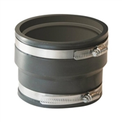 """Rubber Pipe Coupling, 4"""" x 4"""""""