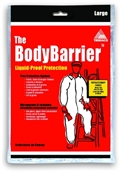 Body Barrier Coveralls Large