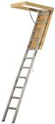 """Attic Stair Aluminum 375# 22-1/2"""" x 10'3"""""""