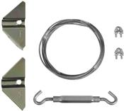 Gate Anti-Sag Kit, Zinc