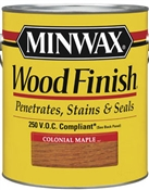 Wood Finish Oil Based Colonial Maple 1/2 Pint