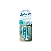 Refresh your car 9591 Air Freshener, Solid, Alpine Meadow, Summer Breeze, 4 Pack