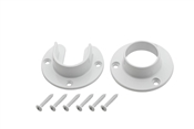 Heavy Duty Closet Flange Set, White