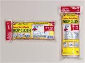 9' x 12' Plastic 1 Mil Drop Cloth JCS912