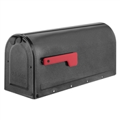 Pewter MB1 Post Mount Mailbox