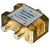 2-Way Digital Satellite Splitter